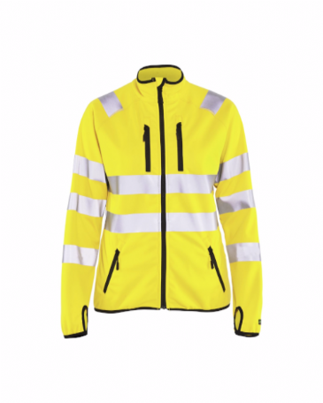 Blaklader 4926 Ladies High Vis Jacket Softshell (Yellow)